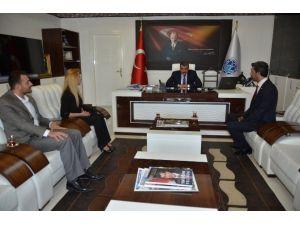 BBP Battalgazi İlçe Başkanı Aygün, Başkan Gürkan'ı Ziyaret Etti