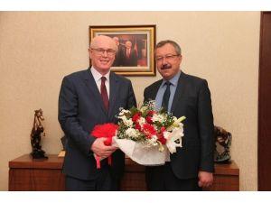 CHP Eskişehir İl Yönetiminden Başkan Kurt'a Ziyaret