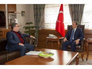 Başkan Şensoy'dan Vali Taşyapan'a Ziyaret