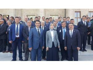 Havran AK Parti TBMM'yi Ziyaret Etti