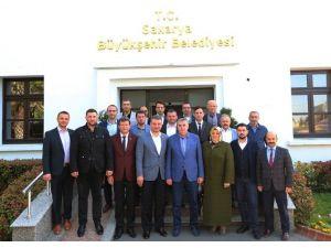 Başkan Toçoğlu AK Parti Serdivan Teşkilatını Ağırladı
