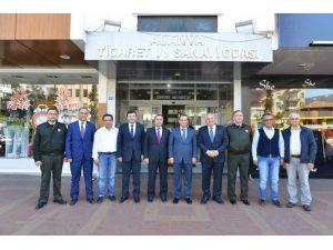 Vali Türker Alanya'da STK'ları Ziyaret Etti