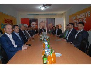 AK Partili Çerkezköy İlçe Başkanı Öğe Belediye Çalışmalarını Değerlendirdi
