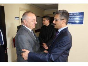 Başkan Ergün'den Emniyet Müdürü Bilgiç'e Ziyaret