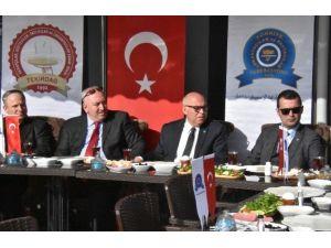 Başkan Eşkinat, STK Buluşmalarına Tekirdağ Lokantacılar Ve Pastacılar Odası İle Başladı