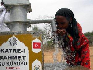 'Türkiye Afrika'da 9 milyon kişiye temiz içme suyu sağladı'