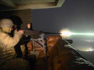 Teröristler sınır karakoluna füzeli saldırı girişiminde bulunmuş