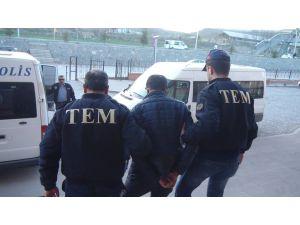 Çankırı'daki terör operasyonunda 1 kişi tutuklandı