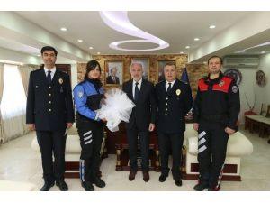 Başkan Saraçoğlu'na 'Polis Haftası' Ziyareti