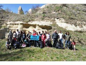 Kapadokya'da Temizlik Kampanyası Yapıldı