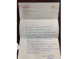İlaç Firması Sahibinden Mehmetçiği Duygulandıran Mektup