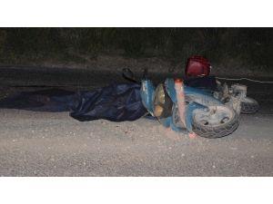 Hem Motosiklet Sürücüsünü Öldürdü, Hem De Kaçtı