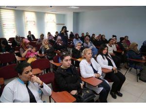 Melikgazi'de Sağlık Sohbetleri Devam Ediyor