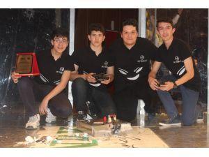 ASO Teknik Koleji, Göktürk isimli robotla birinci oldu