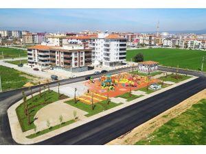Torbalı'nın En Büyük Çocuk Oyun Parkı Tamamlandı