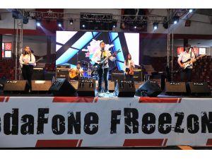 Vodafone Freezone Müzik Yarışması'nda Çankırılı öğrenciler sahne aldı