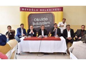 Başkan Demircan, Mehmet Akif Ersoy İlkokulu'da Öğrencilerle Buluştu