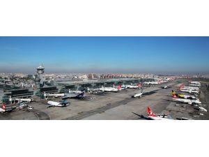 Atatürk Havalimanı dünyada 11. sıraya yükseldi