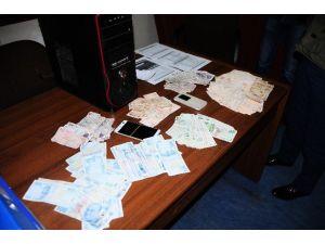 Yasa Dışı Bahis Operasyonunda 25 Bin Lira Ele Geçirildi