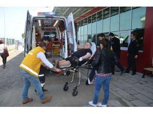 Fatsa'da Minibüs Yayaya Çarptı: 1 Yaralı
