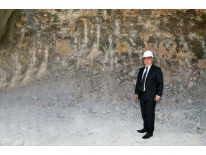 Ferhat Tüneli'ne 'Yıldırım' Start