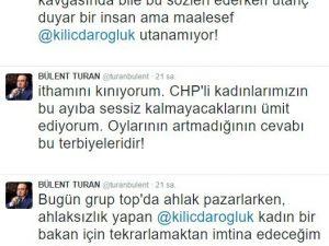 Turan, Kılıçdaroğlu'nu Eleştirdi