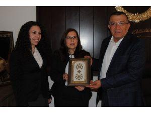 KKTC Mersin Konsolosu İnanıroğlu'ndan Mgc'ye Ziyaret