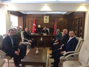 MHP'den Emniyet Müdürü Yavuz'a Ziyaret