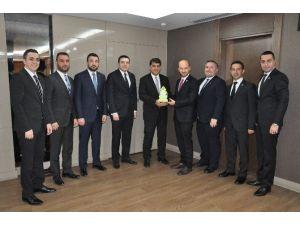 Gagiad Yönetim Kurulu Şehitkamil Belediye Başkanı Rıdvan Fadıloğlu'nu Ziyaret Etti
