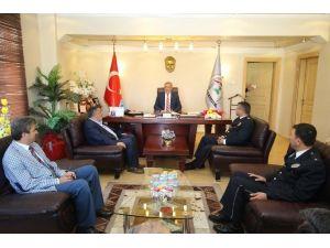 Akyazı Emniyetinden Başkan Akcan'a Ziyaret