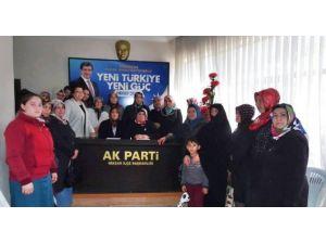 AK Parti Niksar Kadın Kolları, Kılıçdaroğlu'nu Kınadı
