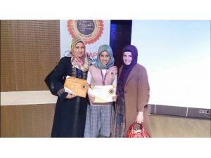 Rabia Hatun Kız Anadolu İmam Hatip Lisesi Yarışmaya Damga Vurdu