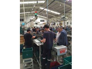 Başkan Toçoğlu'ndan Fabrika Ziyareti