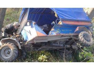 Korgan'da Patpat Kazası: 2 Yaralı
