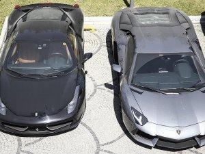 Koza-İpek'in lüks otomobilleri ihaleyle satılacak
