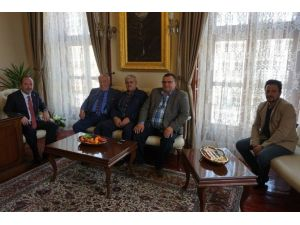 Edirneli Peynir Üreticilerinden Belediye Başkanı Gürkan'a Ziyaret