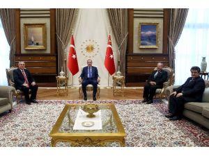 Cumhurbaşkanı Erdoğan Yargıtay Cumhuriyet Başsavcısı'nı Kabul Etti