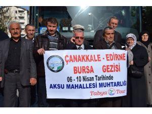 Muhtardan Mahalleliye Çanakkale Gezisi