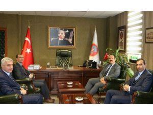 Cumhuriyet Başsavcısı İrcal'dan Avukatlar Günü Ziyareti