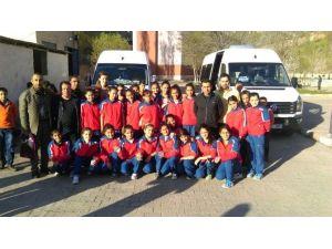 Hakkarili Öğrenciler Kahramanmaraş'a Gitti