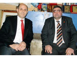 Rektör Özcan'dan KKDGC Başkanı Daşdelen'e Ziyaret