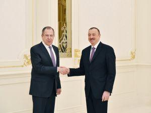 Rusya Dışişleri Bakanı Sergey Lavrov Bakü'de