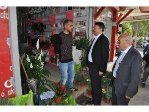 Başkan Turgut'tan Esnaf Ziyareti