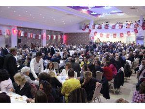 CHP Çan İlçe Teşkilatı Dayanışma Yemeğinde Buluştu