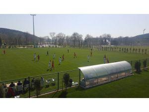 Futbolda U14 Milli Takım seçme kampı sona erdi