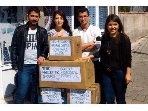 Hemşire Adayları Yardım Kampanyası Düzenledi
