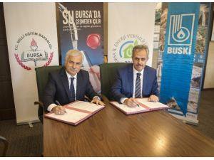 Bursa'daki Okullarda Su Bilinci Anlatılacak