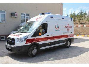 Gemerek Devlet Hastanesi'ne Yeni Ambulans Verildi