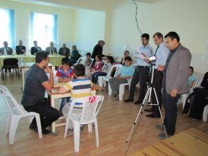 Hisarcık'ta Zeka Oyunları Turnuvası İlçe Finali