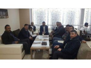 Diriliş Başkanları Yahyalı Yönetimi İstişare Ve Tanışma Toplantısı Yapıldı